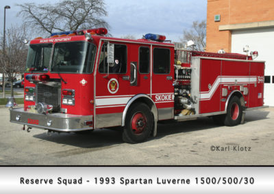 Skokie Fire Department Reserve Squad