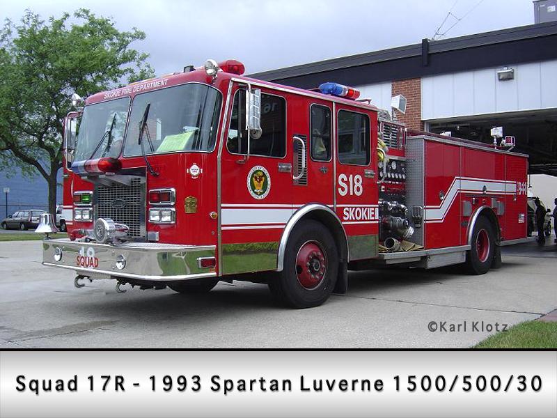 Skokie Fire Department Squad 17R