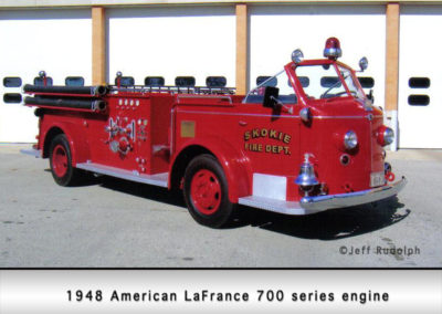 Skokie Fire Department antique
