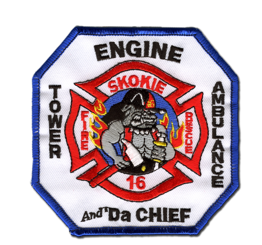 Skokie Fire Department Station 16 patch