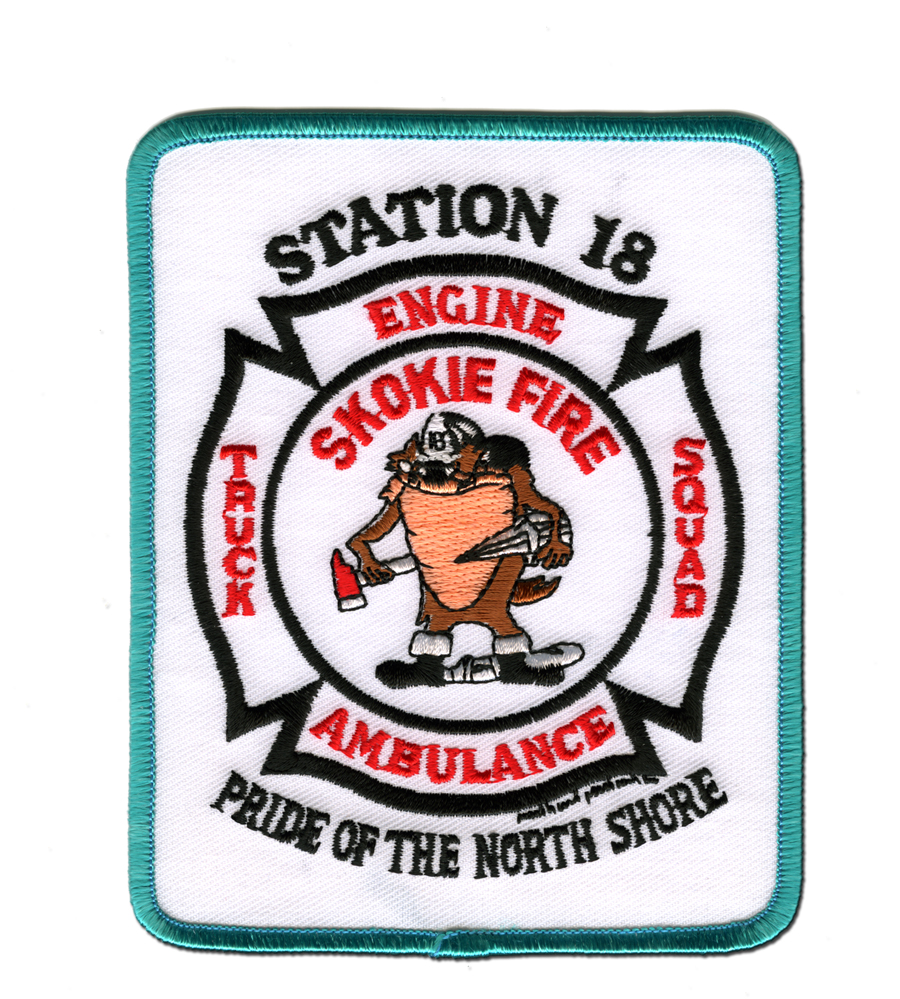 Skokie Fire Department Station 18 patch