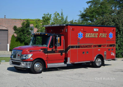 Skokie Fire Department Ambulance 18