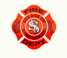 Streamwood Fire Department decal
