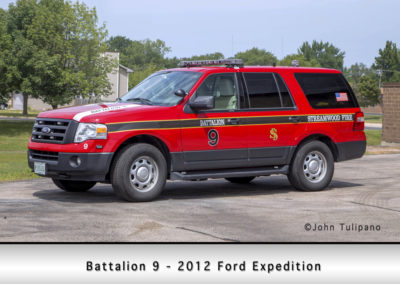 Streamwood Fire Department Battalion 9