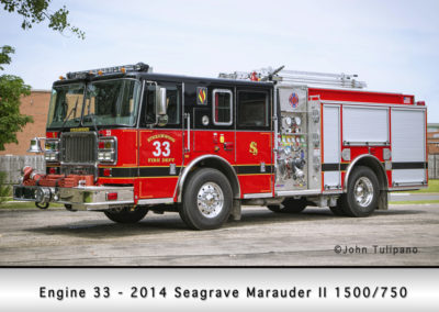 Streamwood Fire Department Engine 33