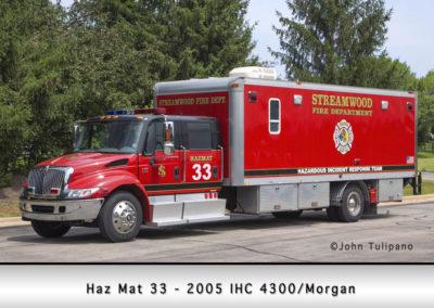 Streamwood Fire Department Haz Mat 33