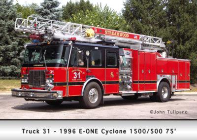 Streamwood Fire Department Truck 31