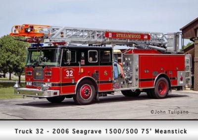 Streamwood Fire Department Quint 32