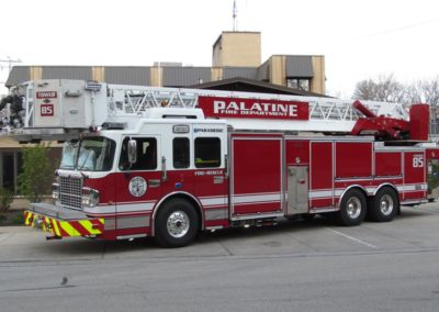 Palatine Tower 85 - 2013 Spartan Gladiator Classic/SpartanERV 100' RM tower ladder 0/0