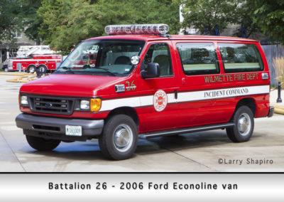 Wilmette Fire Department Battalion 26