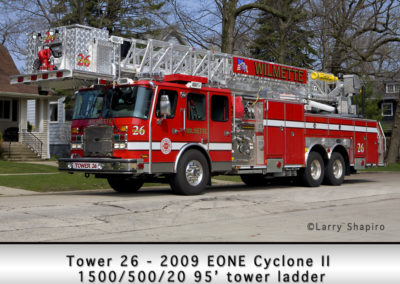 Wilmette Fire Department Tower 26