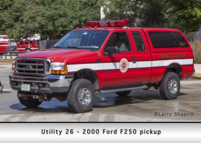 Wilmette Fire Department Utility 26