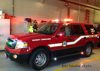 Park Ridge Fire Department Battalion 35 - 2013 Ford Expedition. Bill Smaha photo