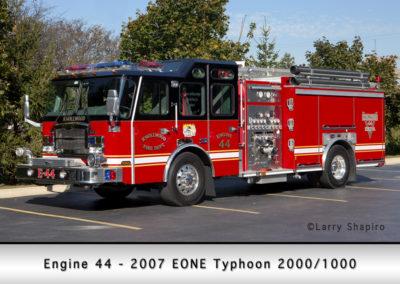 Knollwood FD Engine 44 2007 E-ONE Typhoon 2000-1000