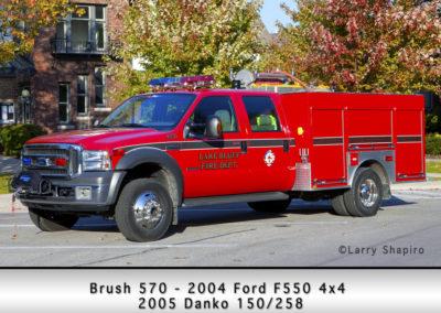 Lake Bluff Brush 570 - 2004 Ford F550 4x4 2005 Danko 150/258