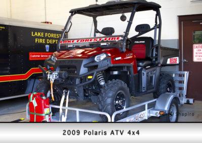 2009 Polaris 4x4 ATV