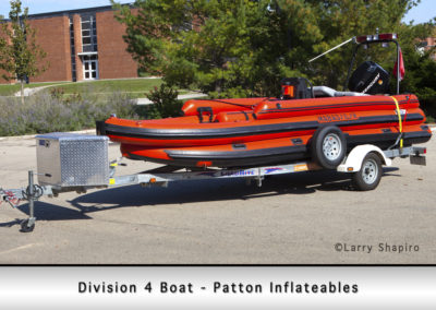 Division 4 Boat - Patton Inflatables