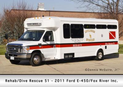Lincolnshire-Riverwoods FPD Rehab/Dive 51 - 2011 Ford E450/Fox River Inc