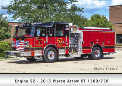 Lincolnshire-Riverwoods FPD Engine 52- 2013 Pierce Arrow XT 1500/750