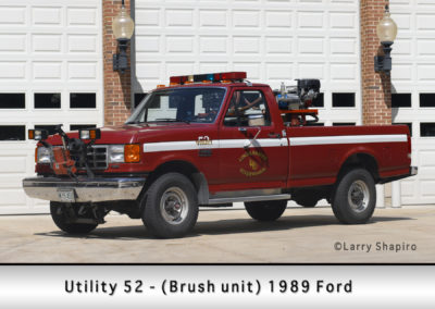 Lincolnshire-Riverwoods FPD Brush 52- 1989 Ford