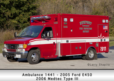 Newport Township FPD Ambulance 1442 - 2005 Ford E450 - 2006 Medtec Type III