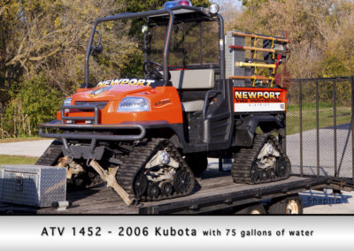 Newport Township FPD ATV 1452 - 2006 Kubota 75 GWT
