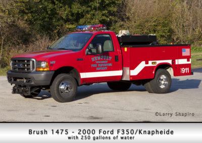 Newport Township FPD Brush 1475 - 2000 Ford F350 - Knapheide 250 GWT