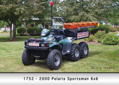 Winthrop Harbor 1752 - 2000 Polaris Sportsman 6x6