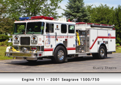 Winthrop Harbor Engine 1711 - 2001 Seagrave 1500/750