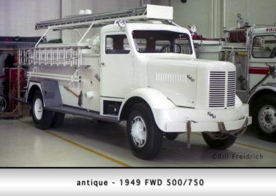 Winthrop Harbor antique - 1949 FWD 500/750