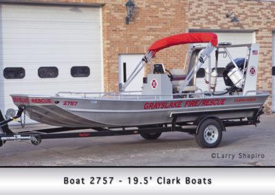 Grayslake FD Boat 2757 - 19.5' Clark Boats