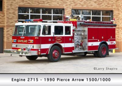Grayslake FPD Engine 2715 - 1990 Pierce Arrow 1500/1000