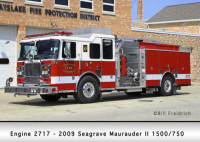Grayslake FD Engine 2717 - 2009 Seagrave Marauder II 1500/750