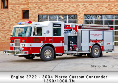 Grayslake FPD Engine 2722 - 2004 Pierce Custom Contender 1250/1000