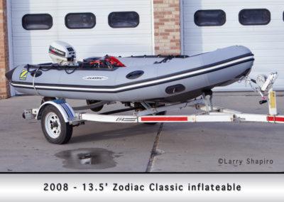 Grayslake FD Boat 2008 Zodiac Classic inflatable