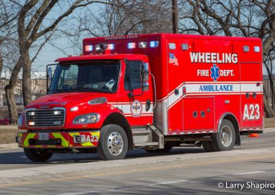 Wheeling FD Ambulance 23
