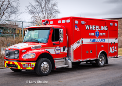 Wheeling FD Ambulance 24