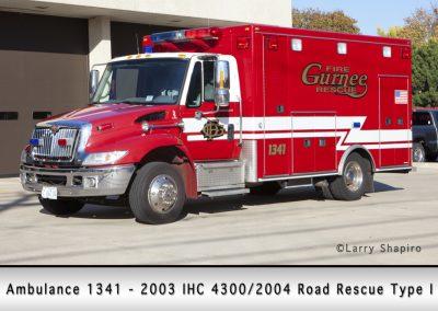Gurnee FD Ambulance 1341