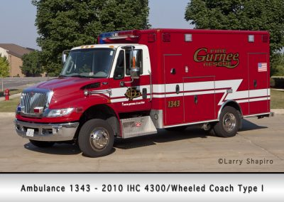 Gurnee FD Ambulance 1343