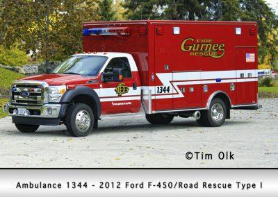 Gurnee FD Ambulance 1344